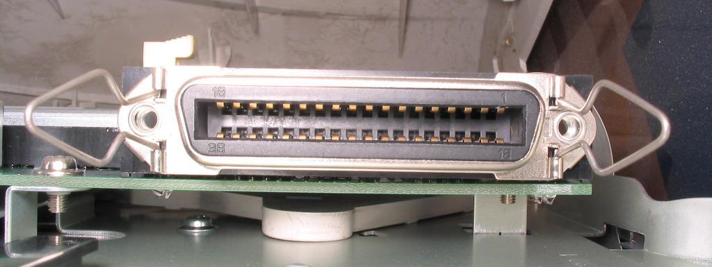 centronics connectors (micro ribbon)